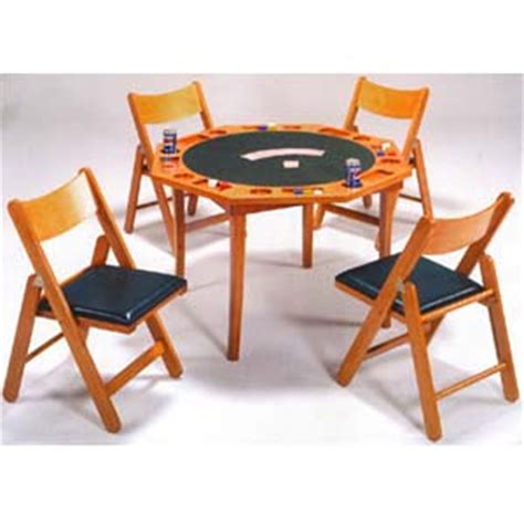 card table chairs set 5 piece oak card table w chairs set 6184 86 wd