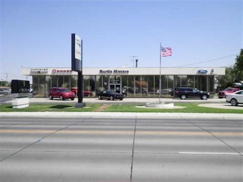 Burtis Motor Company Ford Dealership In Garden City Ks