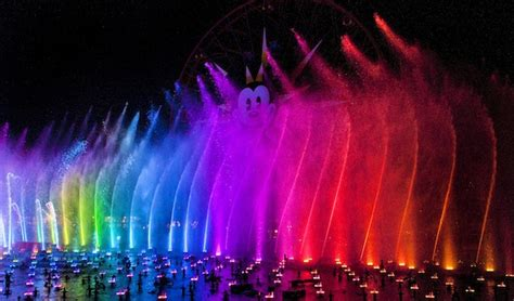 dreams in color disneyland 174 resort debuts world of color winter dreams
