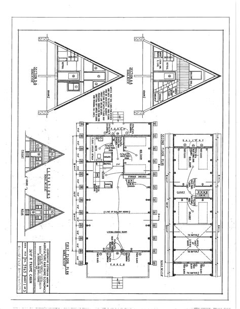 cabin blueprints free a frame cabin plans blueprints construction documents