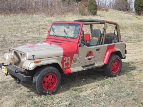 jurassic world jeep 29 jp29 1 jurassic jeep 65 million years in the making
