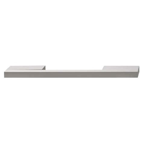 Isabella Collection Handle In Silver Anodized Finish In