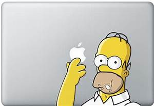 Palm Trees & Sick Weaves: Simpson decals for Apple