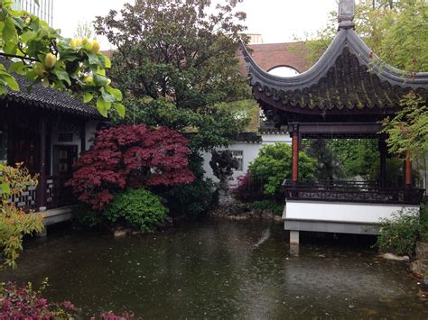Lan Su Chinese Garden-urban Park In Portland-thousand