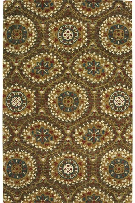 Boho Area Rug.. hand tufted wool from India. Freedom of