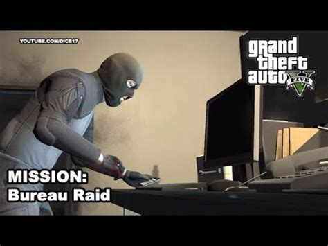 gta v bureau missions gta 5 gameplay walkthrough mission 53 hacking the bureau