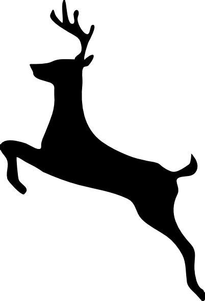wildlife stencils  deer clip art vector clip art
