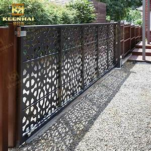 Cast Aluminum Garden Door Design For Outdoor Manufacturers
