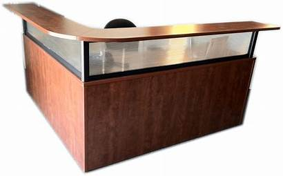 Desk Reception Borders Paperless Office Drawers Furniture
