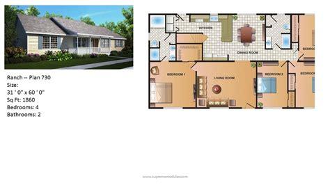 Carls Patio Naples Fl by 4 Bedroom Ranch Modular Floor Plans Carls Patio Naples Fl