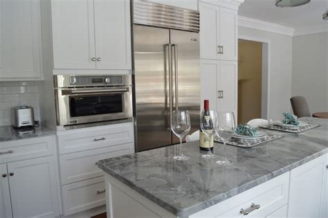 white and grey traditional kitchen classic gray and white kitchen traditional kitchen White And Grey Traditional Kitchen