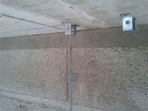 Suspentes Placo Tige Filetée : electricit ok vrd termin es suspentes d mar es ~ Dailycaller-alerts.com Idées de Décoration