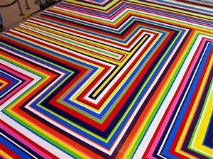 The most colorful floor design – Adorable Home
