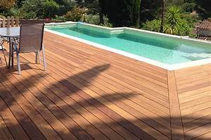 Terrasse Bois Exotique : lame en bois cumaru pour terrasse nature bois concept ~ Melissatoandfro.com Idées de Décoration