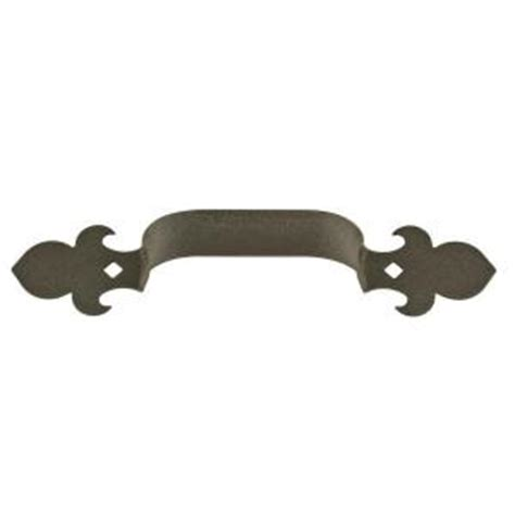 fleur de lis cabinet knobs home depot crown metalworks black fleur de lis decorative garage lift