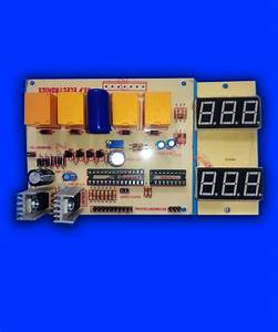 Automatic Voltage Stabilizer Circuit  U2013 4 Relay Digital