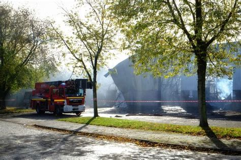 pictures show ajm pet products warehouse destroyed  huge