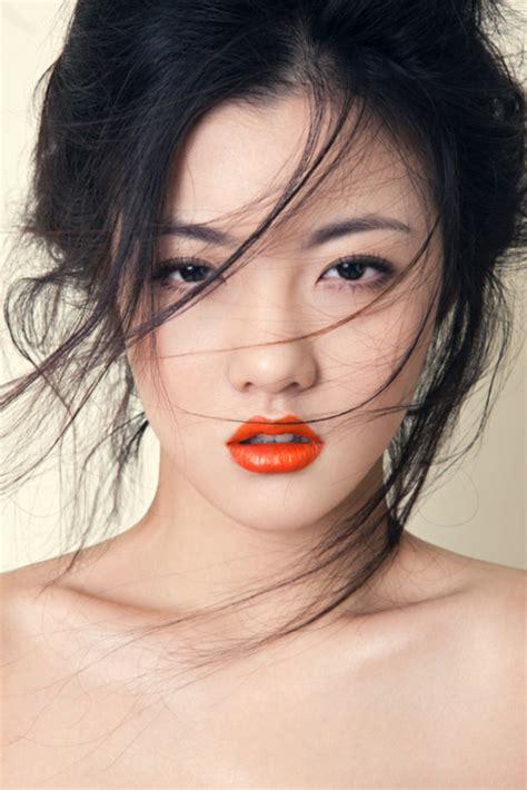 dark  medium eyeshadow  contour area  gorgeous asian
