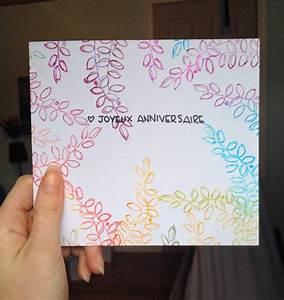 Fabriquer Carte Anniversaire : carte anniversaire faire soi m me oc86 jornalagora ~ Melissatoandfro.com Idées de Décoration