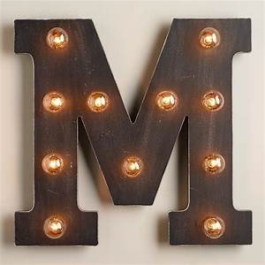 39m39 marquee light world market With marquee letter hook
