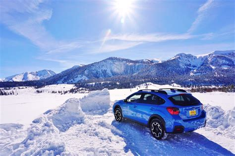 Subaru Crosstrek Snow by Mammoth 10 Of Snow Mckennasubaru Crosstrek On