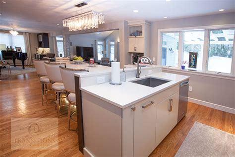 t shaped kitchen design transitions kitchens and baths island styles for your ideal kitchen design