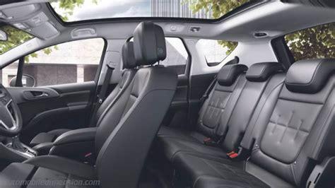 opel meriva  dimensions boot space  interior