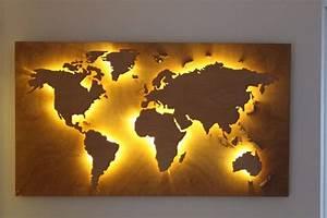 World Map Wall Art — RS FLORAL Design : DIY Mural World
