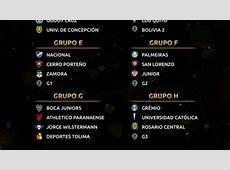 Sorteo Copa Libertadores 2019 Así quedaron las llaves y