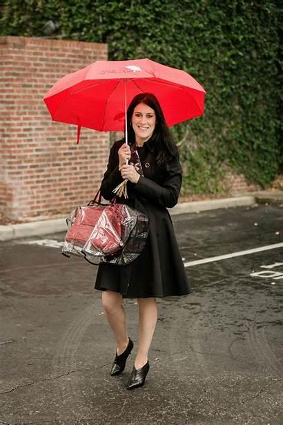 Umbrella Rain Hello Smart Poncho Handbag Res