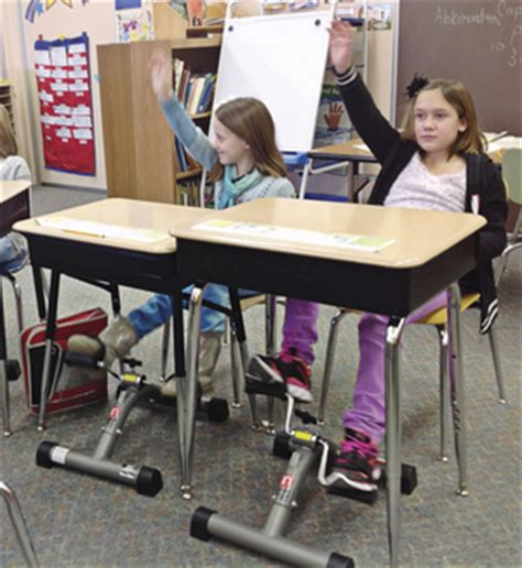 under desk foot pedal primary teacher installs pedal desks in her
