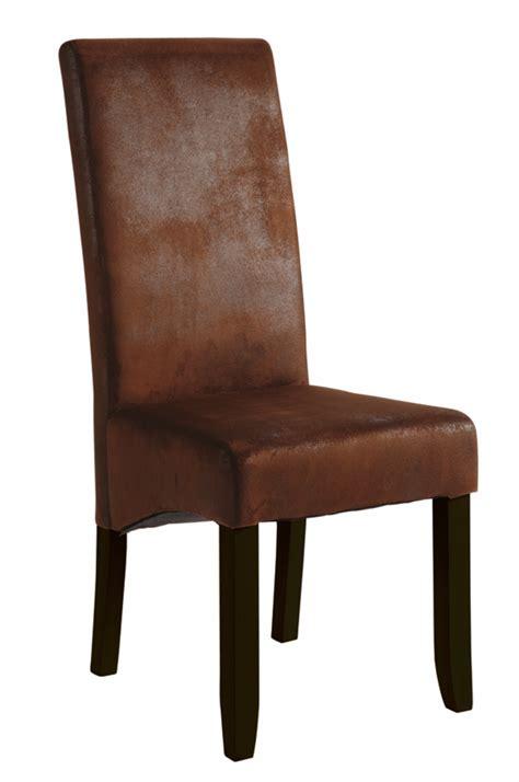chaise séjour chaise sejour sagua marron fonce vintage