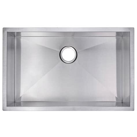 undermount ss kitchen sinks water creation undermount zero radius stainless steel 6602