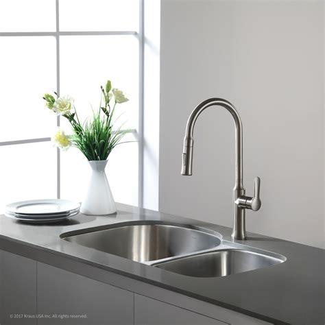 undermount kitchen sink for 30 inch cabinet kraus kbu21 30 inch undermount 60 40 bowl kitchen 9814