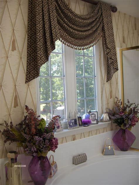 bathroom curtain ideas master bathroom window treatment curtain ideas