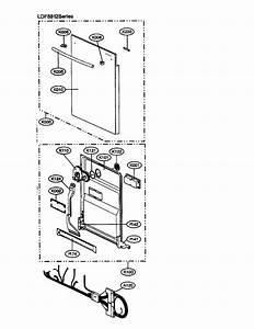 Tub Diagram  U0026 Parts List For Model Ldf8812st Lg