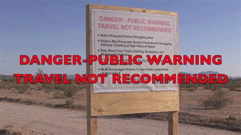 Federal Government Warning Sign for Arizona Desert - YouTube