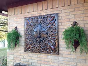fleur d lis metal art bought hobby lobby for 50 off