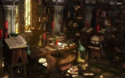 Study Wallpapers Library Anime Fantasy Scenery Related