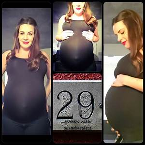 29 weeks with quads | My Pregnancy with Quadruplets ...