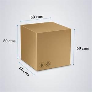 ghs boxes large box 60cm x 60cm x 60cm With meuble 60 x 60