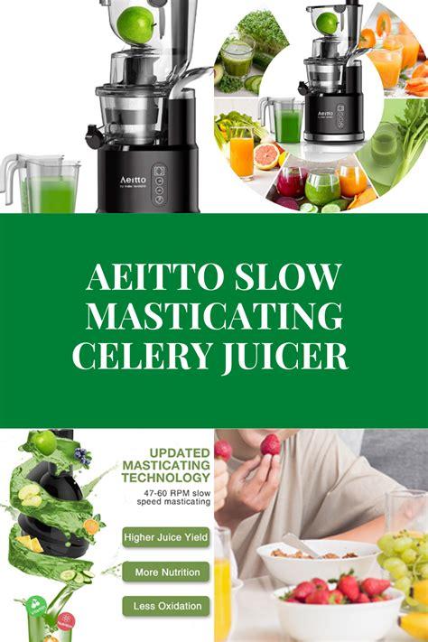 juicer celery medical