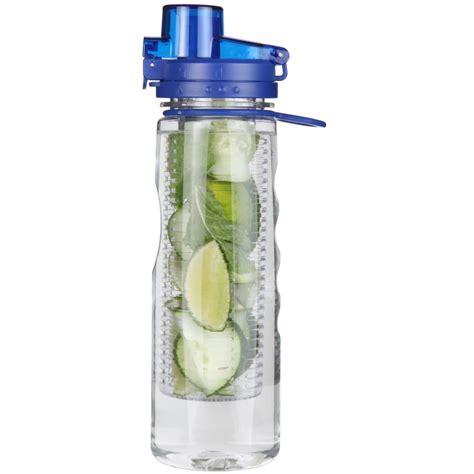 infuser water bottle 25 oz leak proof flip top bpa free