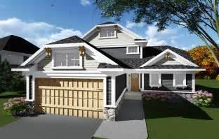 Open Concept Craftsman House Plan