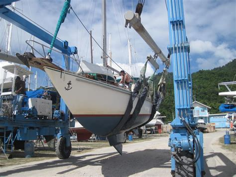 World Cat Boats Ta by 1968 Creekmore 38 Ft Swing Keel Most Sailboats 1968