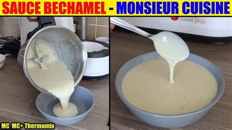 cuisine lidl sauce bechamel monsieur cuisine plus lidl silvercrest