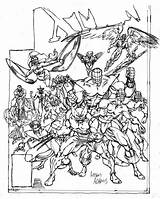 Classic Adams Coloring Pages Arthur Sketch Xmen Classical Drawing Marvel Comics Artworks John 1980s Ages Analyzing Week Popular Drawings Archive sketch template