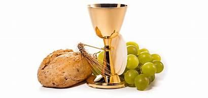 Communion Holy Jesus Gifts Bread Wine Church