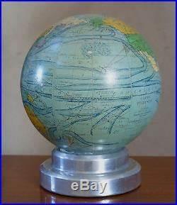 Lampe Globe Terrestre : lampe art deco globe terrestre globe en verre lampe mappemonde par forest art deco paris ~ Teatrodelosmanantiales.com Idées de Décoration