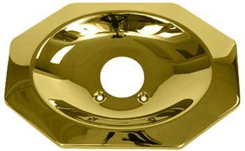 price pfister polished brass tub  shower escutcheon